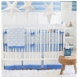 New Arrivals Carousel 3 Piece Crib Bedding Set