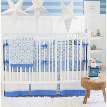 New Arrivals Carousel 4 Piece Crib Bedding Set