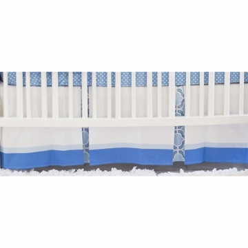New Arrivals Carousel Crib Skirt