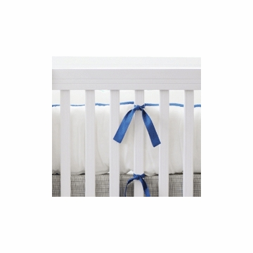 New Arrivals Dakota Blue Crib Bumper