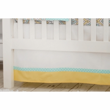 New Arrivals Dreamweaver Crib Skirt