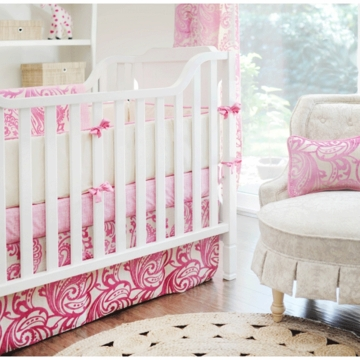New Arrivals French Quarter 4 Piece Crib Bedding Set