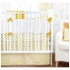 New Arrivals Gold Rush 4 Piece Crib Bedding Set