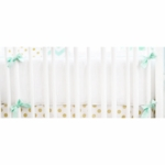 New Arrivals Gold Rush in Mist Crib Bumper
