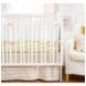 New Arrivals Gold Rush in Pink 2 Piece Crib Bedding Set