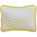 New Arrivals Gold Rush Throw Pillow