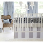 New Arrivals Hampton Bay 3 Piece Crib Bedding Set