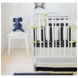 New Arrivals Hudson Street 3 Piece Baby Crib Bedding Set