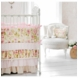 New Arrivals In Full Bloom 4 Piece Crib Bedding Set
