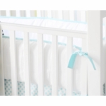 New Arrivals Indigo Summer Crib Bumper