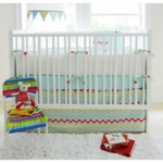 New Arrivals Jellybean Parade 2 Piece Baby Crib Bedding Set