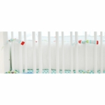 New Arrivals Jellybean Parade Crib Bumper