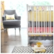 New Arrivals Lemon Drop 4 Piece Crib Bedding Set
