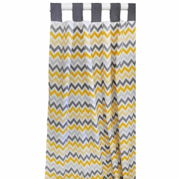 New Arrivals Mellow Yellow Window Panels - Set of 2