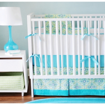 New Arrivals Monterey 2 Piece Crib Bedding Set
