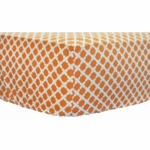 New Arrivals Orange Crush Crib Sheet