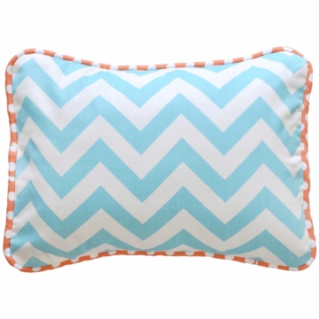 New Arrivals Orange Crush Throw Pillow