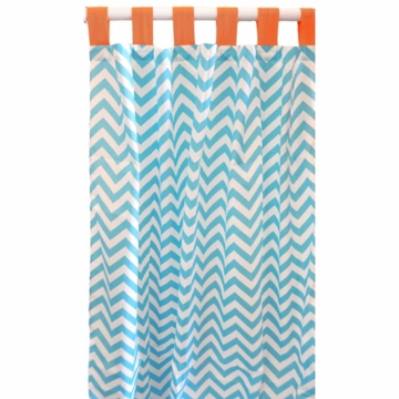 New Arrivals Orange Crush Window Panels - Set of 2