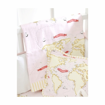 New Arrivals Out to Sea in Pink Blanket