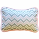 New Arrivals Peace, Love & Pink Throw Pillow - 16 x 16