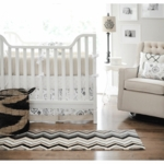 New Arrivals Penelope in Wheat 2 Piece Baby Crib Bedding Set