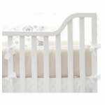 New Arrivals Penelope in Wheat Crib Bumper