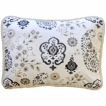 New Arrivals Penelope in Wheat Throw Pillow - 16 x 16
