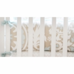 New Arrivals Picket Fence Crib Bumper