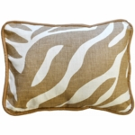 New Arrivals Safari Sand Throw Pillow - 16 x 16