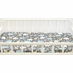 New Arrivals Urban Zoo in Grey Changing Pad Cover