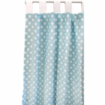 New Arrivals Zig Zag Aqua Window Panels