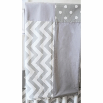 New Arrivals Zig Zag Grey Blanket