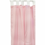 New Arrivals Zig Zag Pink Sugar Window Panels