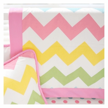 New Arrivals Zig Zag Rainbow Blanket