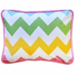 New Arrivals Zig Zag Rainbow Throw Pillow - 16 x 16