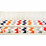 New Arrivals Zig Zag Rugby Changing Pad Cover