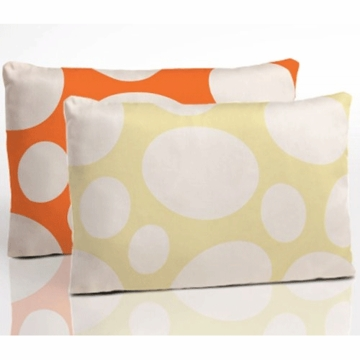 Nook Toddler Pillow in Riverbed Poppy & Stepping Stone Daffodil