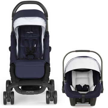 Nuna Pepp & Pipa Travel System - Navy (Albee Baby Exclusive)