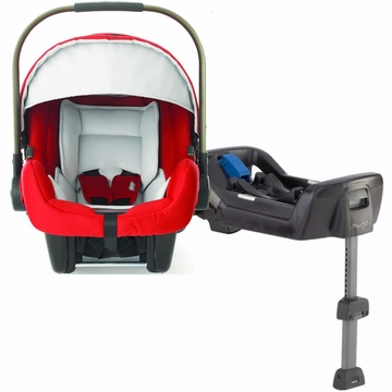 Nuna Pipa Infant Car Seat - Scarlet