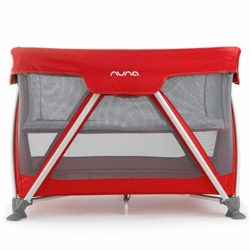 Nuna Sena Travel Crib - Scarlet