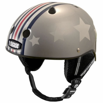 Nutcase Little Nutty Silver Fly Street Helmet