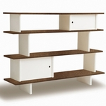 Oeuf Mini Library in Walnut