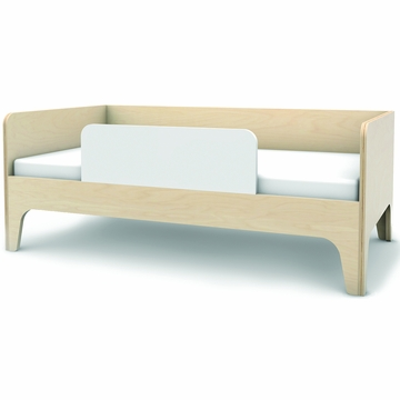 Oeuf Perch Toddler Bed in White/Birch