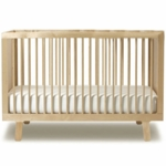 Oeuf Sparrow Collection Crib in Birch