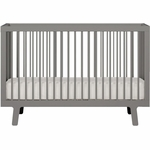 Oeuf Sparrow Collection Crib in Gray