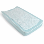 Oilo Changing Pad Cover & Topper in Aqua