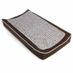 Oilo Changing Pad Cover & Topper in Brown