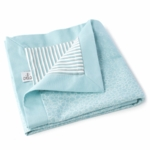 Oilo Raindrops Play Blanket in Aqua