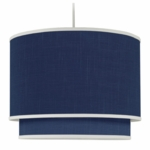Oilo Solid Double Cylinder Light in Cobalt Blue
