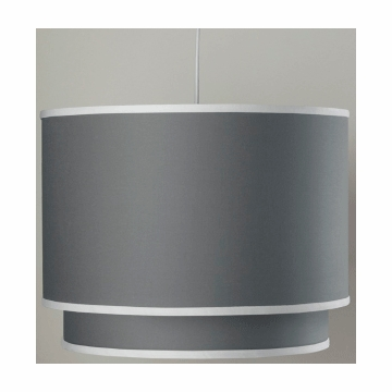 Oilo Solid Double Cylinder Light in Stone